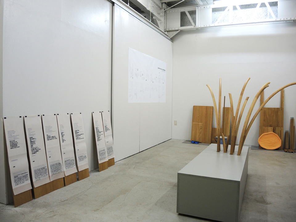 Installation view; Youkobo Art Space, Tokyo, November 2016