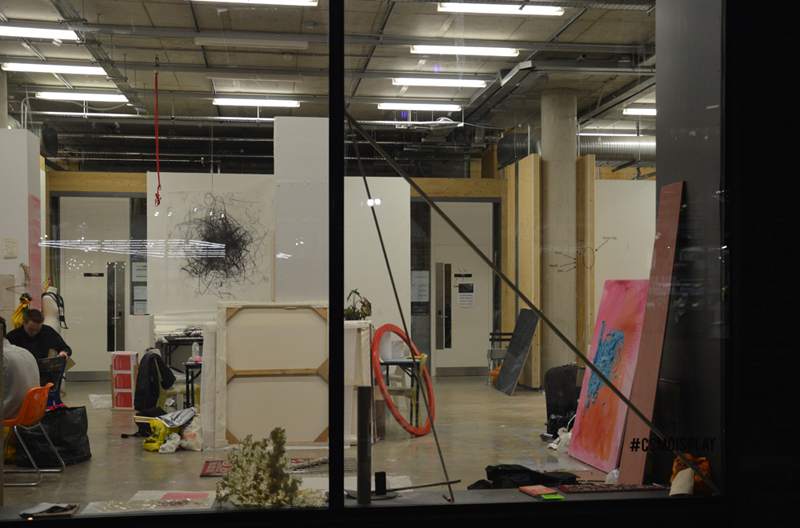 Studios of the BAFA XD Pathway, Art Programme, Central Saint Martins